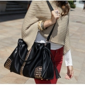 Fashion Women Zipper PU Clutches Bag