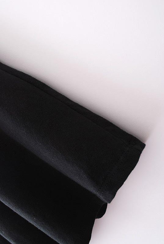 Fashion O Neck Tank Sleeveless A Line Black Cotton Mini Dress