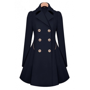Cheap Fashion Long Sleeve Coat