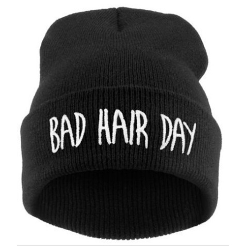 Cheap Fashion Letters Print Black Cotton Hiphop Hat