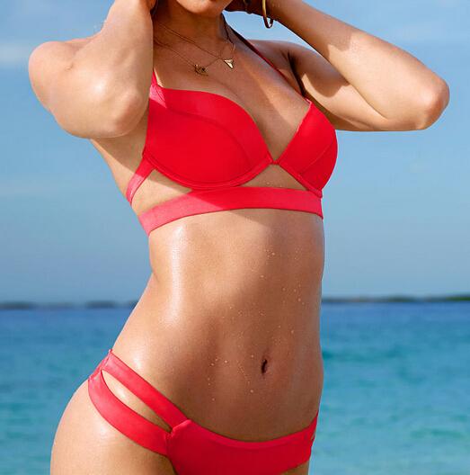 Not pleasant Cheap red bikini are