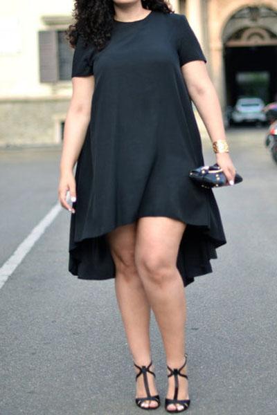 Plus Size Spandex Mini Dress – Fashion dresses