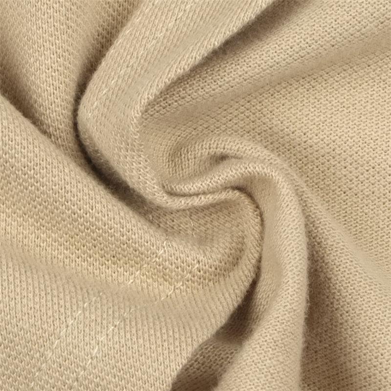 Stylish Turtleneck Half Sleeves Asymmetrical Brown Cotton Mini Dress