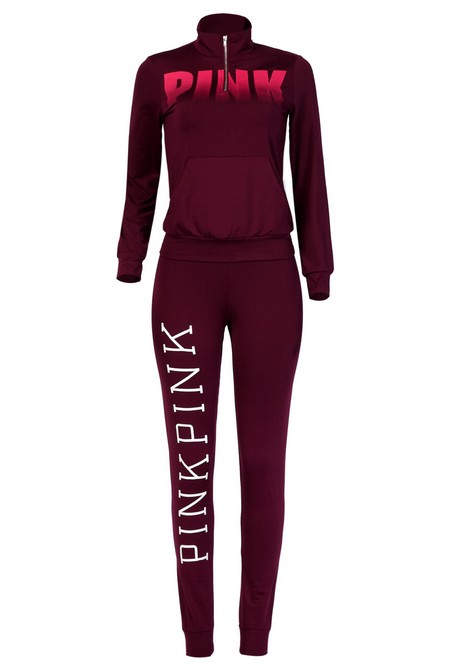 Leisure Turtleneck Long Sleeves Letters Printed Red Qmilch Two-piece Pants Set