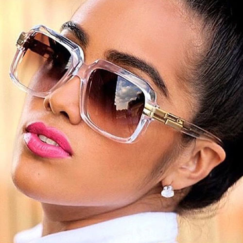 Fashion Tawney Metal Sunglasses