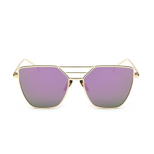 Gafas de sol Euramerican Hollow-out Purple Metal